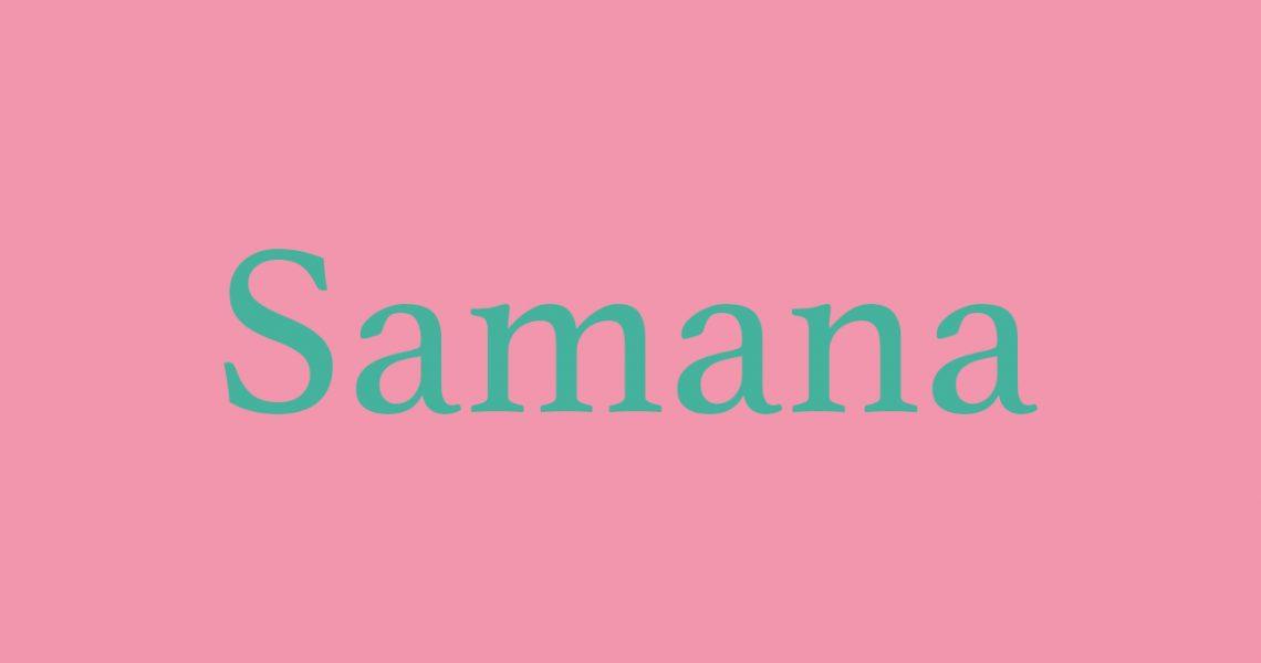Vinyasa Samana Flow